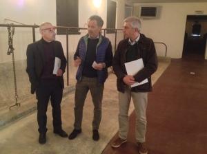 Da sinistra, Guardamagna, Costamagna e Sormani