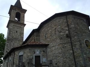 La chiesa di Pregola