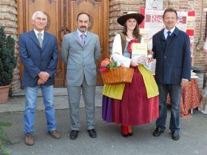 Gli amministratori comunali di Breme e la Monferrina
