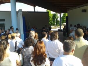 La cerimonia di inaugurazione