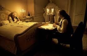 "Salieri aiuta Mozart morente a scrive il ""Requiem"""