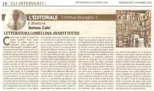 Editoriale Calvi
