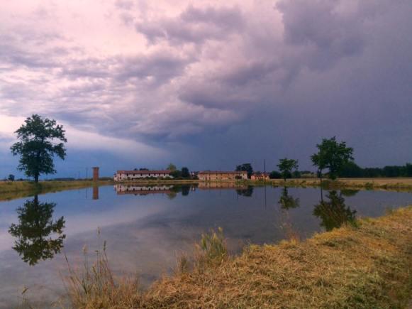 Prima del temporale Anna Sacchi