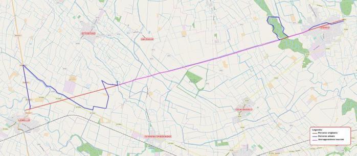 Via mappa