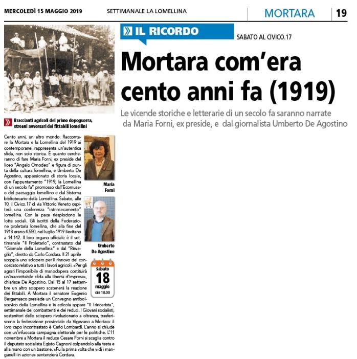 Mortara 1919