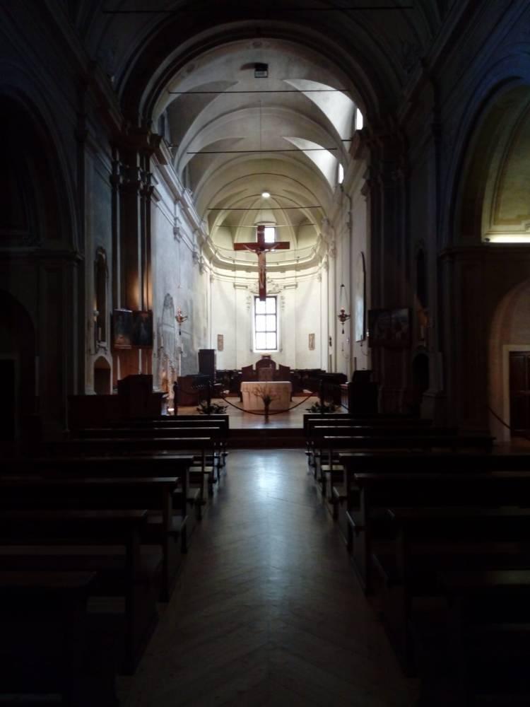 Novalesa chiesa